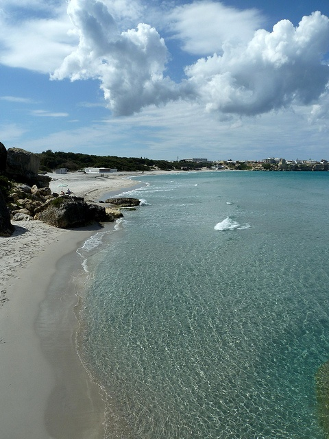 That's Puglia ... in April ;)   Torre dell'Orso by GoSouthEast, via Flickr