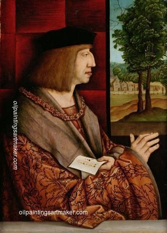 Bernhard Strigel Emperor Maximilian I (1459-1519) - Bernhard Strigel oil painting for sale, painting Authorized official website
