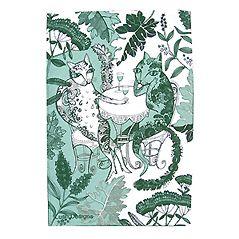 Cats Tea Towel, 48 x 76 cm