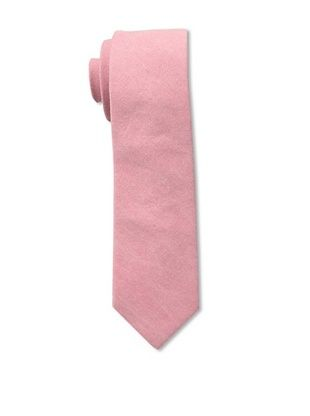 51% OFF Gitman Brothers Men's Woven Washed Solid Tie, Rose