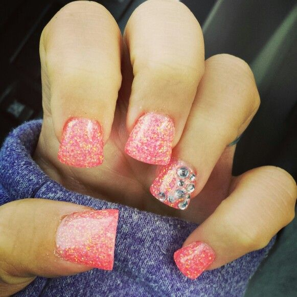 New flare nails! In love with them!