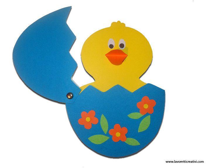 Chick Easter Egg craft