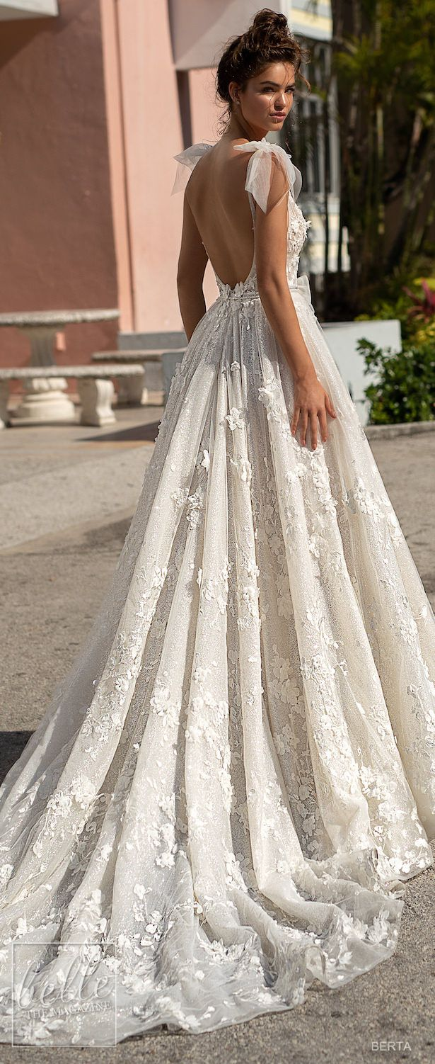 BERTA Marriage ceremony Clothes Spring 2019 : Miami Bridal Assortment