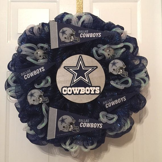 Hey, I found this really awesome Etsy listing at https://www.etsy.com/listing/202375060/dallas-cowboys-wreath-cowboys-wreath