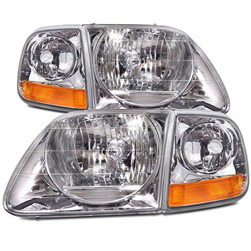 Ford F-150/Expedition Lightning-Style 4-Piece Headlights w/Headlight Bulbs Installed - http://www.caraccessoriesonlinemarket.com/ford-f-150expedition-lightning-style-4-piece-headlights-wheadlight-bulbs-installed/  #4Piece, #Bulbs, #F150EXPEDITION, #Ford, #Headlights, #Installed, #LightningStyle, #WHeadlight #Enthusiast-Merchandise, #Ford