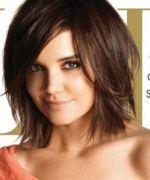 pretty cut for fine hair, medium length