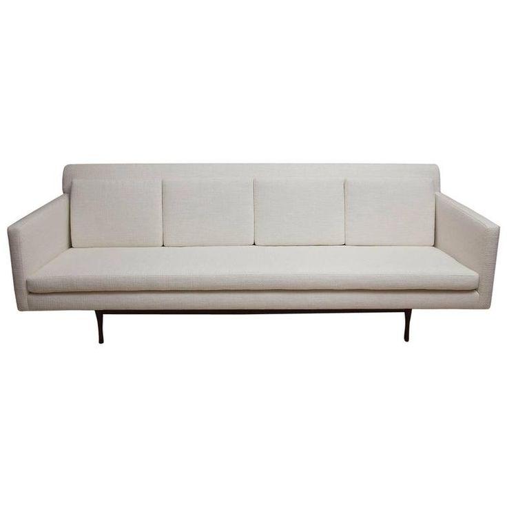 Rare Paul McCobb Symmetric Group Sofa for Widdicomb ca.1960's Full resto.