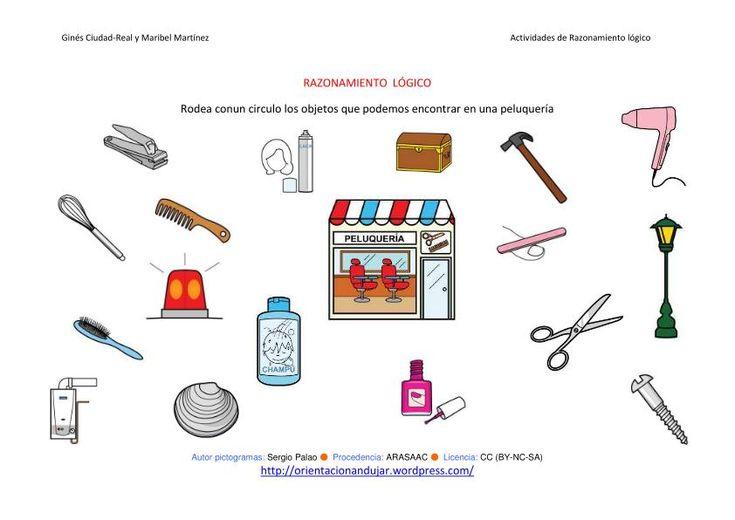 Razonamiento l gico categorizar y agrupar cuatro nuevas for Lista de materiales de cocina