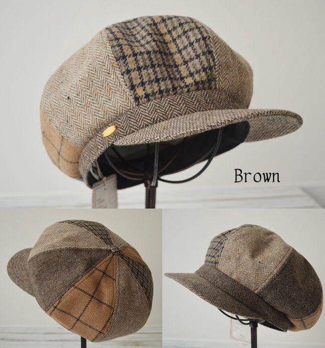 日本製 秋冬 クラシカルなキャスケット。unsm(ウンズム) 帽子 キャスケット 8パネル [INA Casquette CCQZ-001] メンズ レディース 帽子屋 おしゃれ小町
