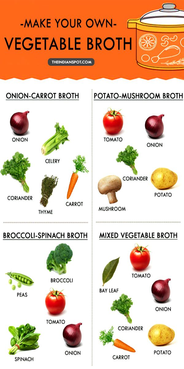 WAYS TO MAKE YOUR OWN VEGETABLE BROTH AND TIPS TO USE