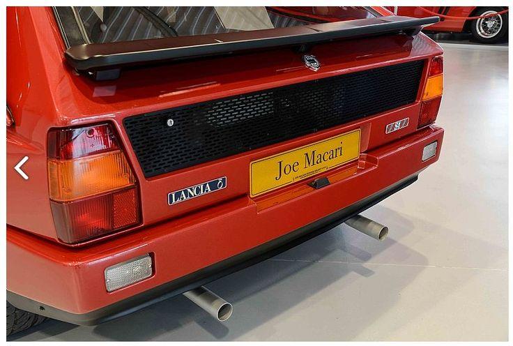 Lancia Delta S4 Stradale Rear 3/4 detail