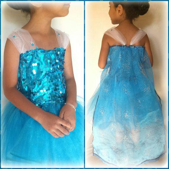 Frozen's Queen Elsa Tutu Dress by SomethingBoutGlitter on Etsy