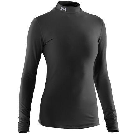 Wiggle España | Camiseta de compresión de cuello alto para mujer Under Armour - ColdGear - OI13 | Prendas de compresión