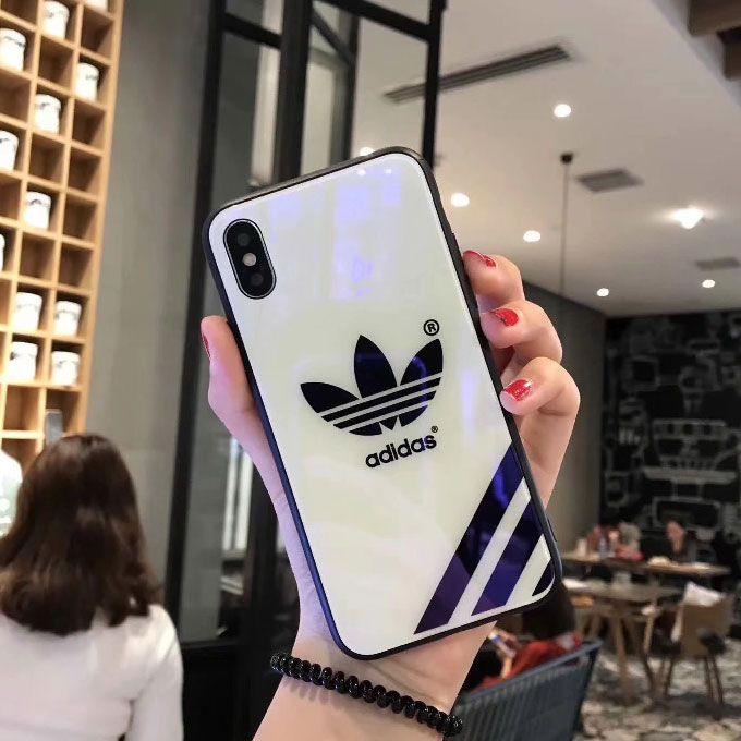 selezione migliore 61198 7c071 adidas iphone 7 plus case iphone x cover white   Cover cellulare