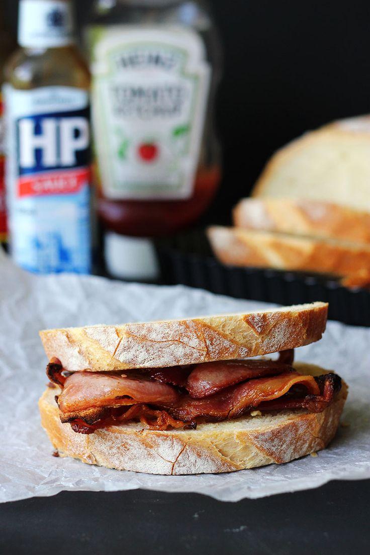 Bacon Sarnie | The Sugar Hit