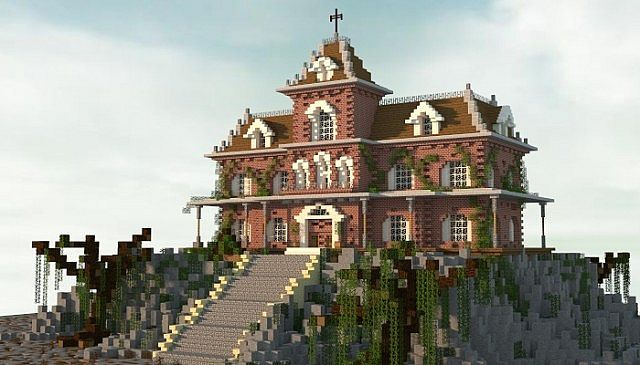 Haunted House Minecraft Map Minecraft Projects Minecraft