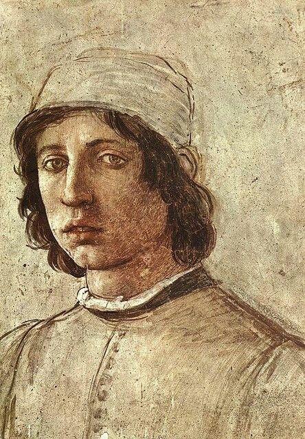Filippo Lippi - Autoritratto