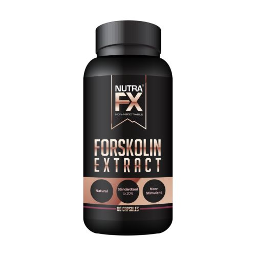 Nutrafx Pure Forskolin Extract – Best Weight Loss Supplement for Women - Natural Fat Burner NON-GMO Stimulant Free Fat Burner - 60 Capsules