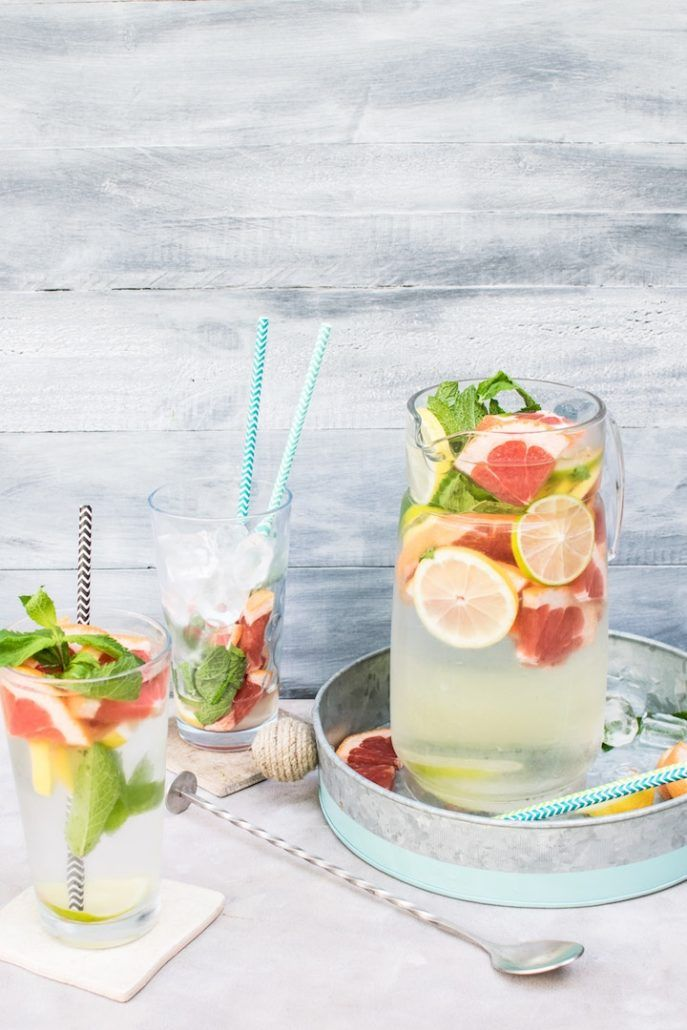 Winter Fruits And Water Infusions You Can Make With Them Water