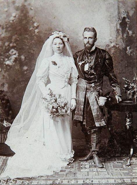Awit Szubert - Kazimierz Hełczyński z żoną (1905)