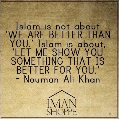 Islam is not about...