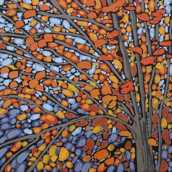 "Peter John Reid Acrylic 12"" X 12"" contemporary art canvas fine art paintings for sale website for art canadian painters online art canadian art auction halifax"
