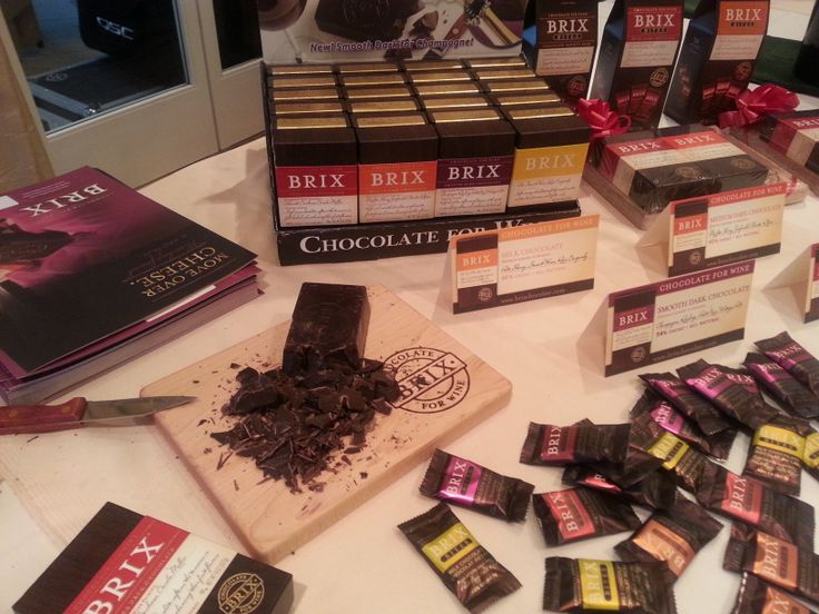 Check out the Brix Extra Dark Chocolate on the cutting board! What a great event at Learn About Wine's Stars of Santa Barbara event at the Peninsula Beverly Hills Hotel on January 23rd, 2014.