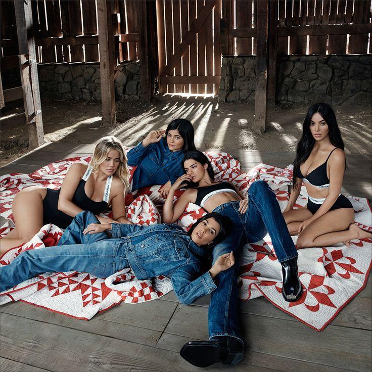 OUR FAMILY. #MYCALVINS. Kim Kardashian, Kylie Jenner, Kendall Jenner, Khloe Kardashian and Kourtney Kardashian stick together, no matter what.