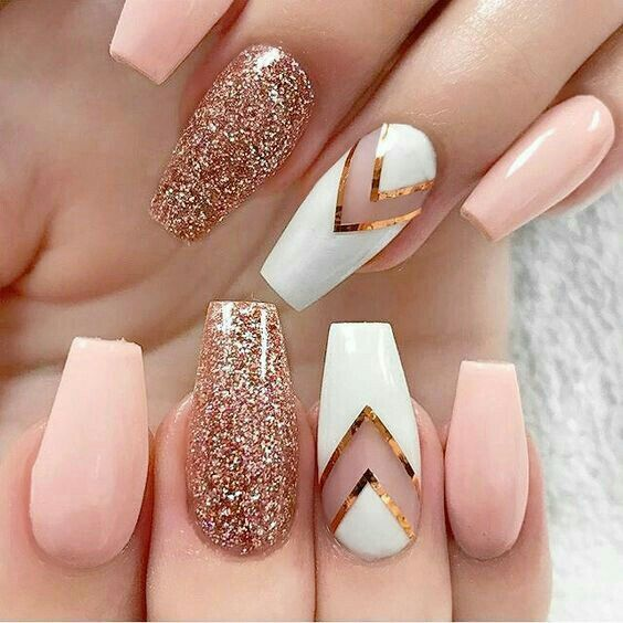 Best Creative Glitters Nail Ideas Design Color For Summer