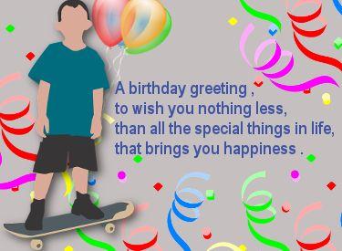 leuke verjaardag plaatjes voor tienerjongens