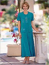 Calypso Print Jacket Dress | Drapers