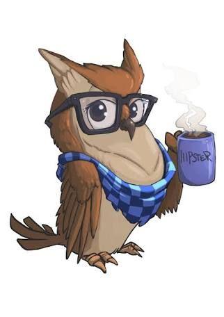Resultado de imagen para hipster owl