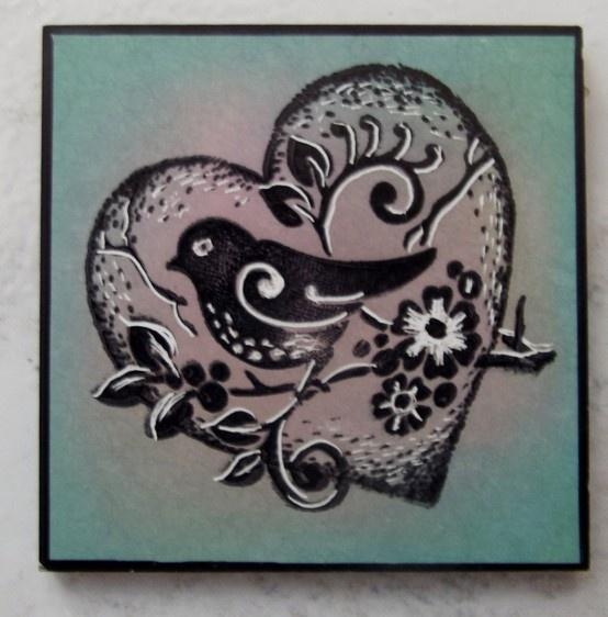 Stampbord twinchie  Free Craft Stamper Stamp