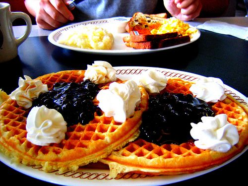 Breakfast on Waffle House Menu