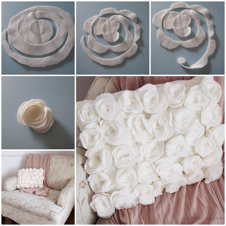 """<input+class=""""jpibfi""""+type=""""hidden""""+>I+came+across+this+nice+DIY+project+to+make+a+fleece+rose+pillow+cover+on+the+Mama-says-sew+Blog.+I+really+like+this+super+cute+idea+to+cut+the+fleece+into+spiral+pattern+and+roll+up+to+form+the+roses.+The…"""