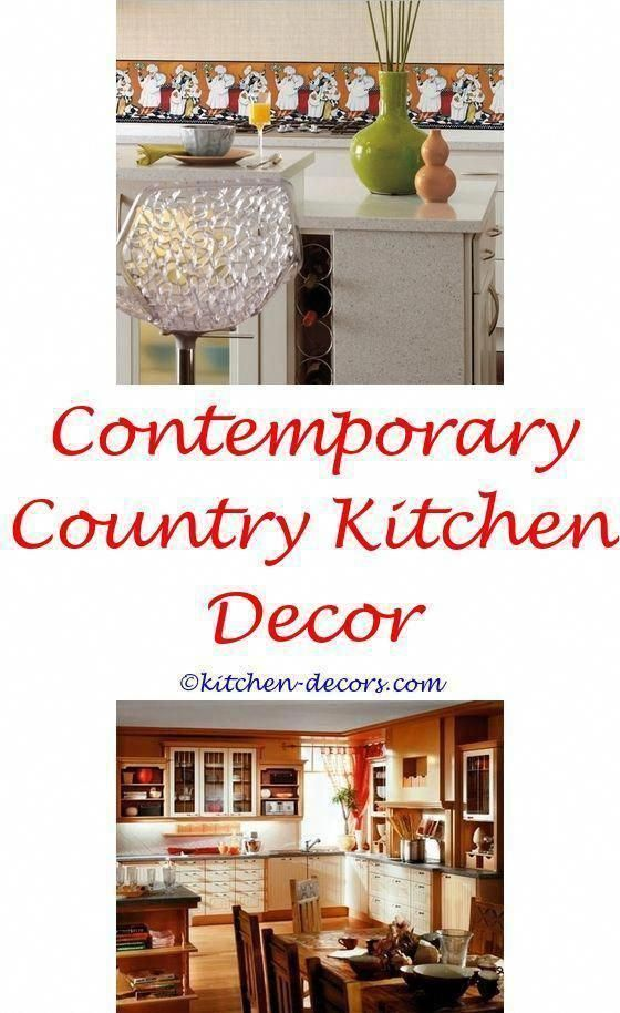 Kitchen Decor Diy Themes Country Kitchen Decor Above Cabinets Bright