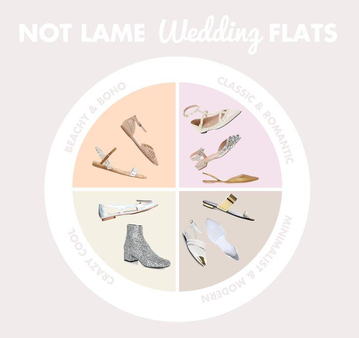 NOT LAME WEDDING FLATS - The Kitchy Kitchen | Wedding | Pinterest