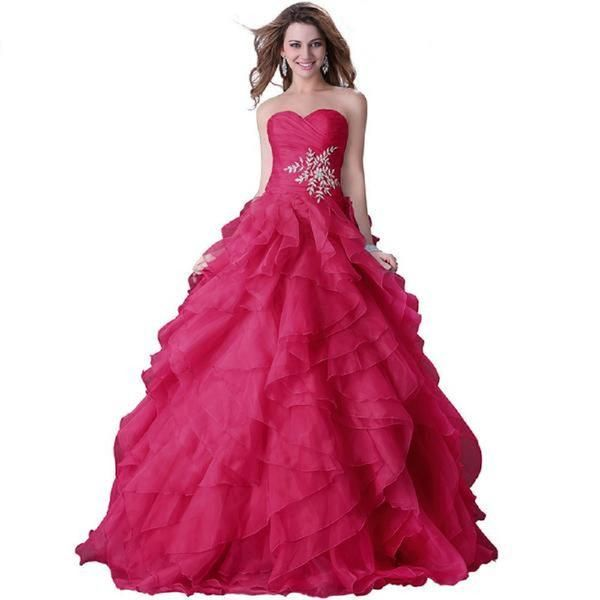 Elegant Puffy Prom Dress – Lifestyleshopee.com