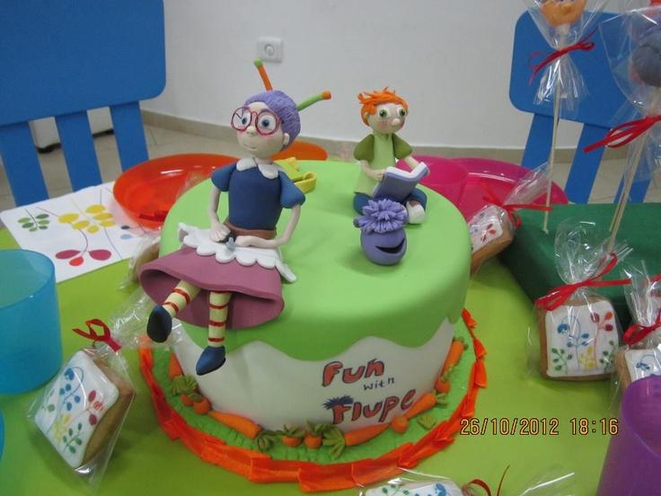Thanks to Helen Doron English in Sofia, Bulgaria for this fabulously creative Fun with Flupe cake!!!