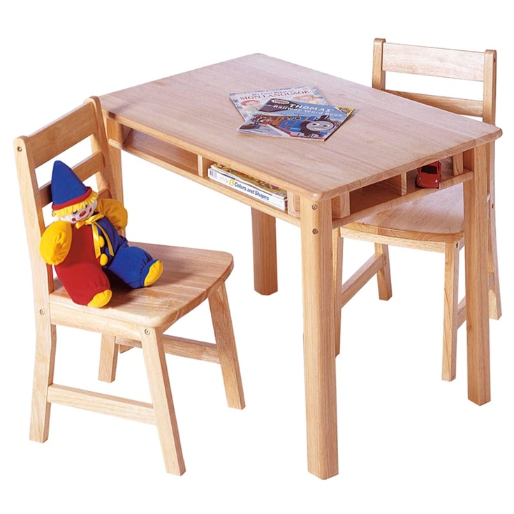 Lipper Childrens Rectangular Table and Chair Set - Activity Tables at HayneedleChild Rectangular, Chairs Sets, Tables For Children Room, 534 Child, Activities Tables, Children Rectangular, Lipper Children, Children Tables, Rectangular Tables