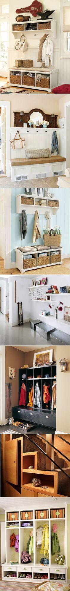 Best Hallway Storage Ideas On Pinterest Hallway Shoe Storage - 63 clever hallway storage ideas