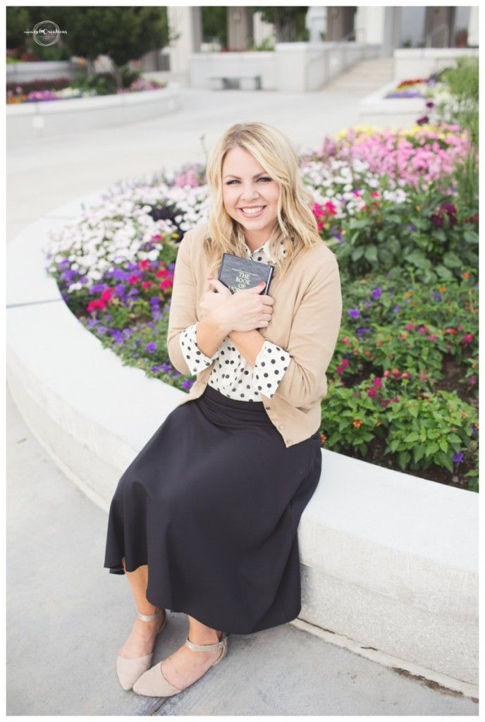 Sister missionary, canada, LDS, missionary, missionary pose, highland temple, LDS temple, LDS missionary, Mission open call