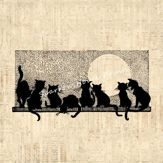 Cat Wall Art 525 best cats images on pinterest | cats, cat art and drawings