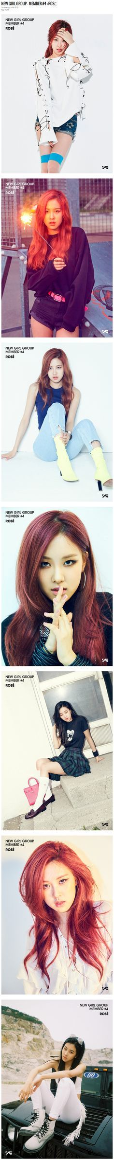 YG LIFE | NEW GIRL GROUP – MEMBER #4 : ROSÉ http://www.yg-life.com/archives/75844 / https://www.pinterest.com/pin/214202526006133718/ #BLACKPINK #블랙핑크 #ROSÉ