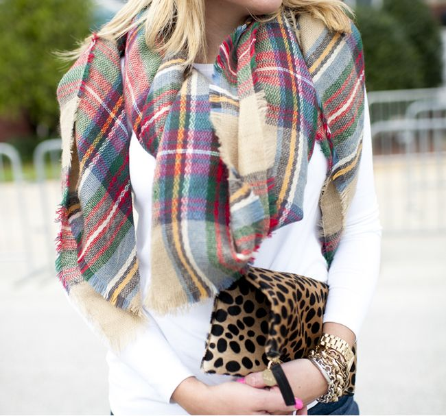 Outfit   Plaid and Leopard