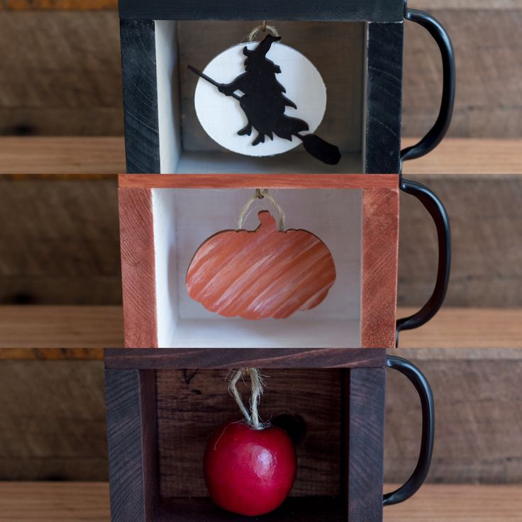 Halloween decorations/Pick your favorite. Rustic Charming Decorative Wooden Boxes at Charming Square