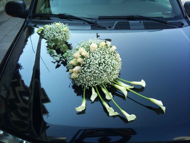 MANOS FLOWERS στο www.GamosPortal.gr #stolismos autokinitou #στολισμός αυτοκινήτου