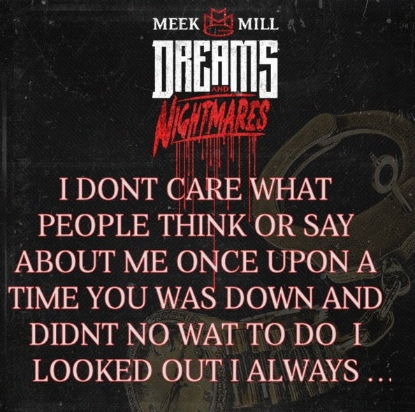 meek mill quotes about friends quotesgram