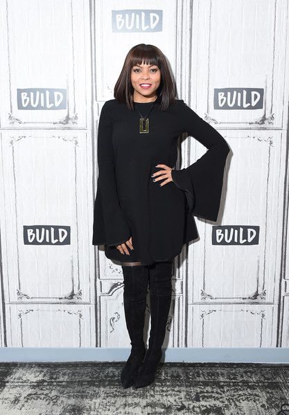 "Taraji P. Henson Photos - Actress Taraji P. Henson visits Build Studio to discuss the movie ""Proud Mary"" at Build Studio on January 9, 2018 in New York City. - Celebrities Visit Build - January 9, 2018"