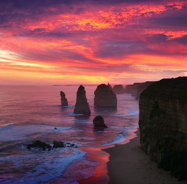 Twelve Apostles - Great Ocean Road, #Australia